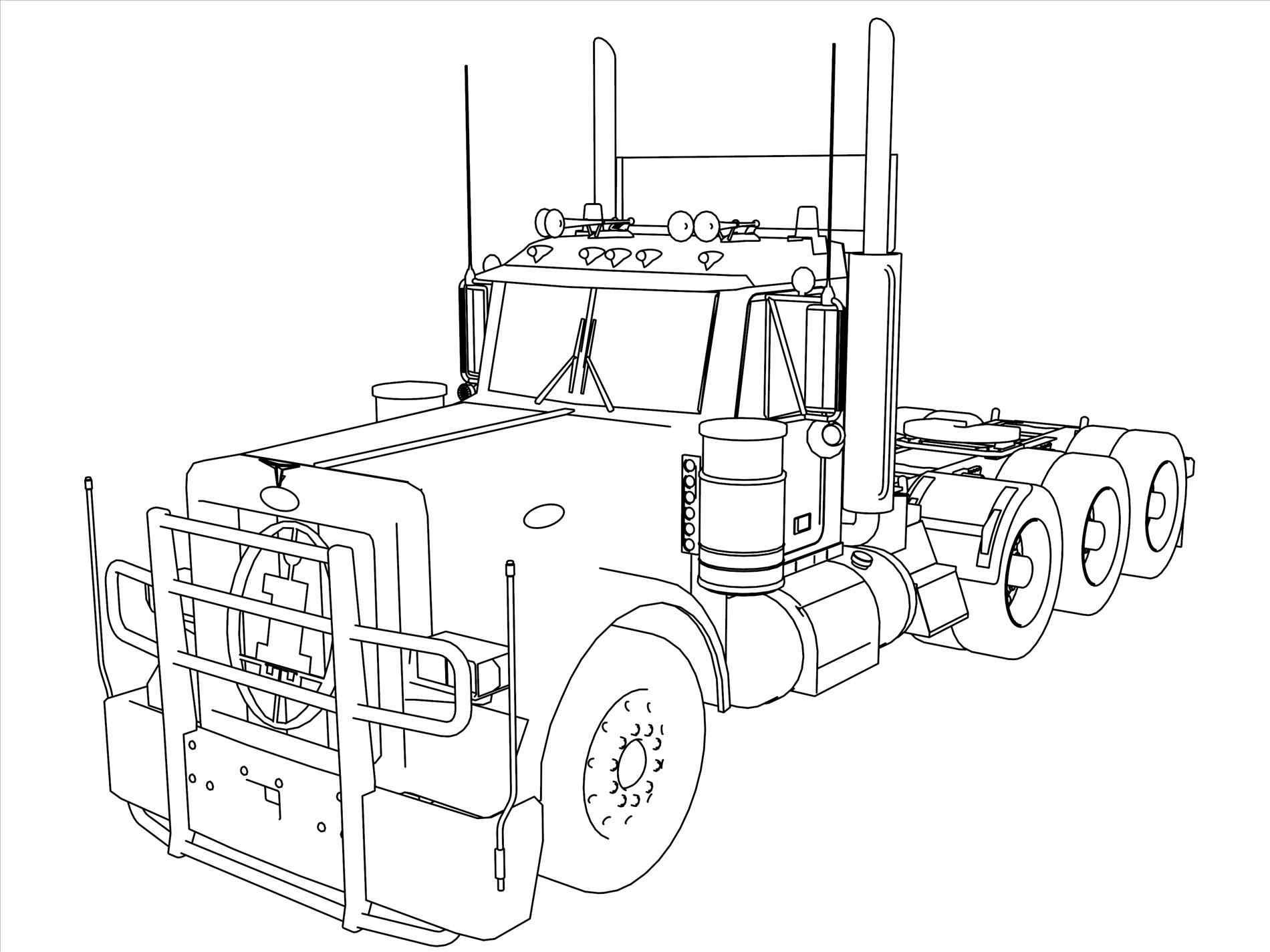 Kenworth Drawing At Getdrawings