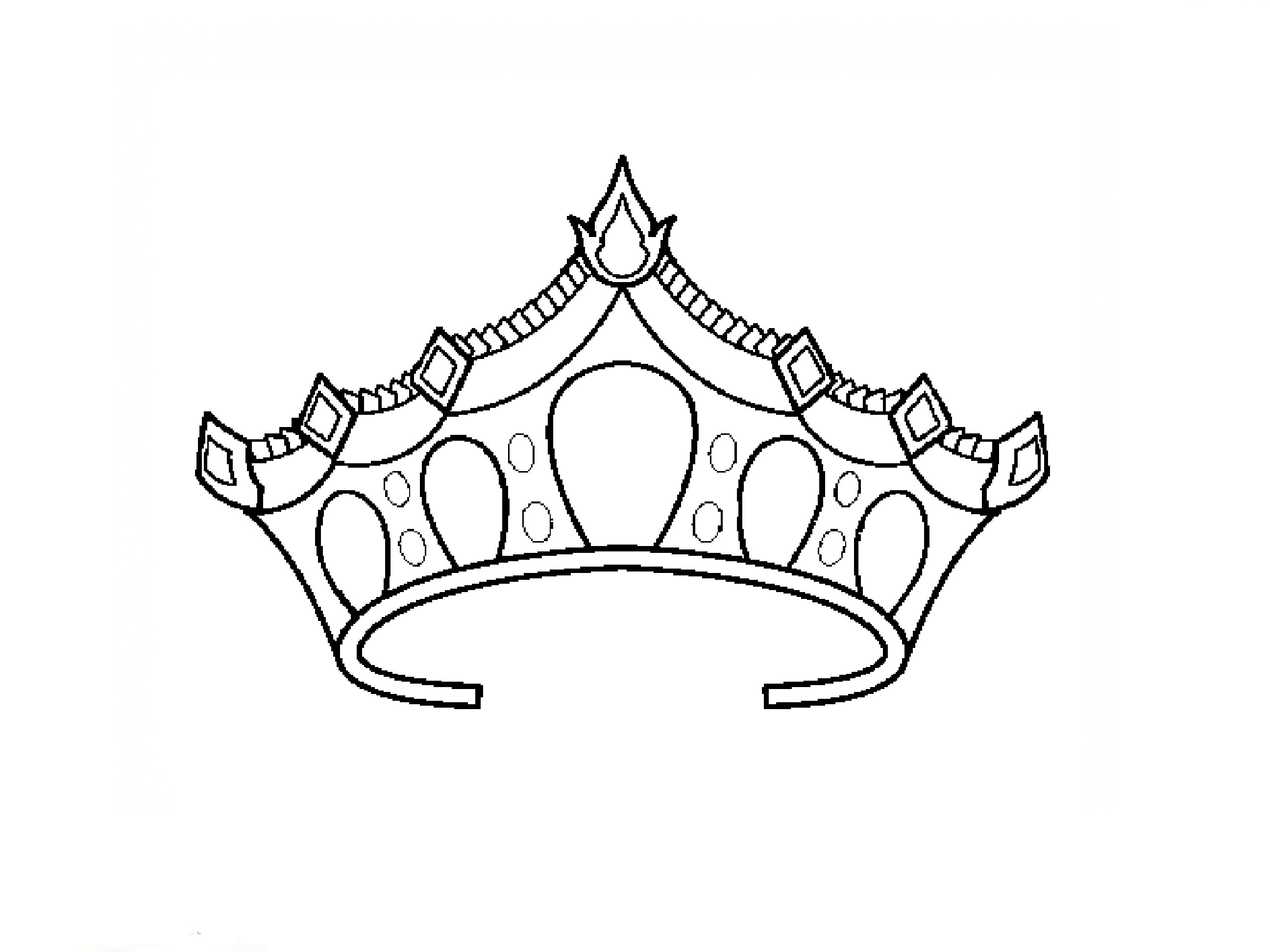 King And Queen Crown Drawing At Getdrawings