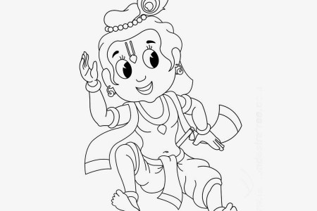 colouring pages for kids little krishna colors cartoon movie learn how to draw baby krishna hinduism step by step drawing learn how to draw baby krishna