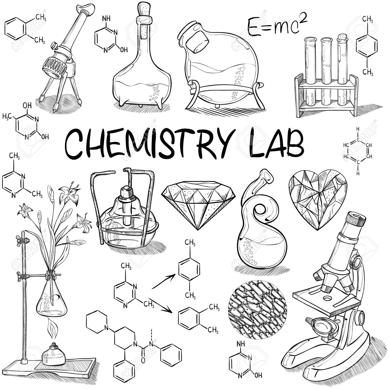 The Best Free Chemistry Drawing Images Download From 50