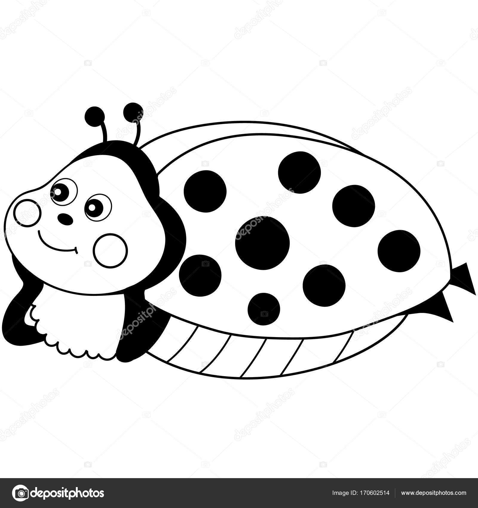 Ladybug Cartoon Drawing At Getdrawings
