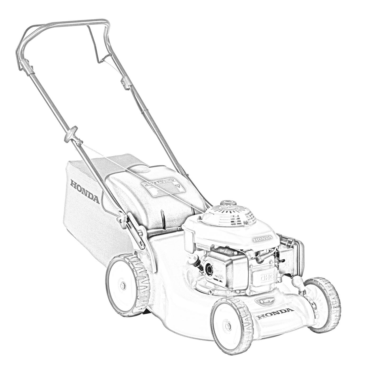 Lawnmower Drawing At Getdrawings