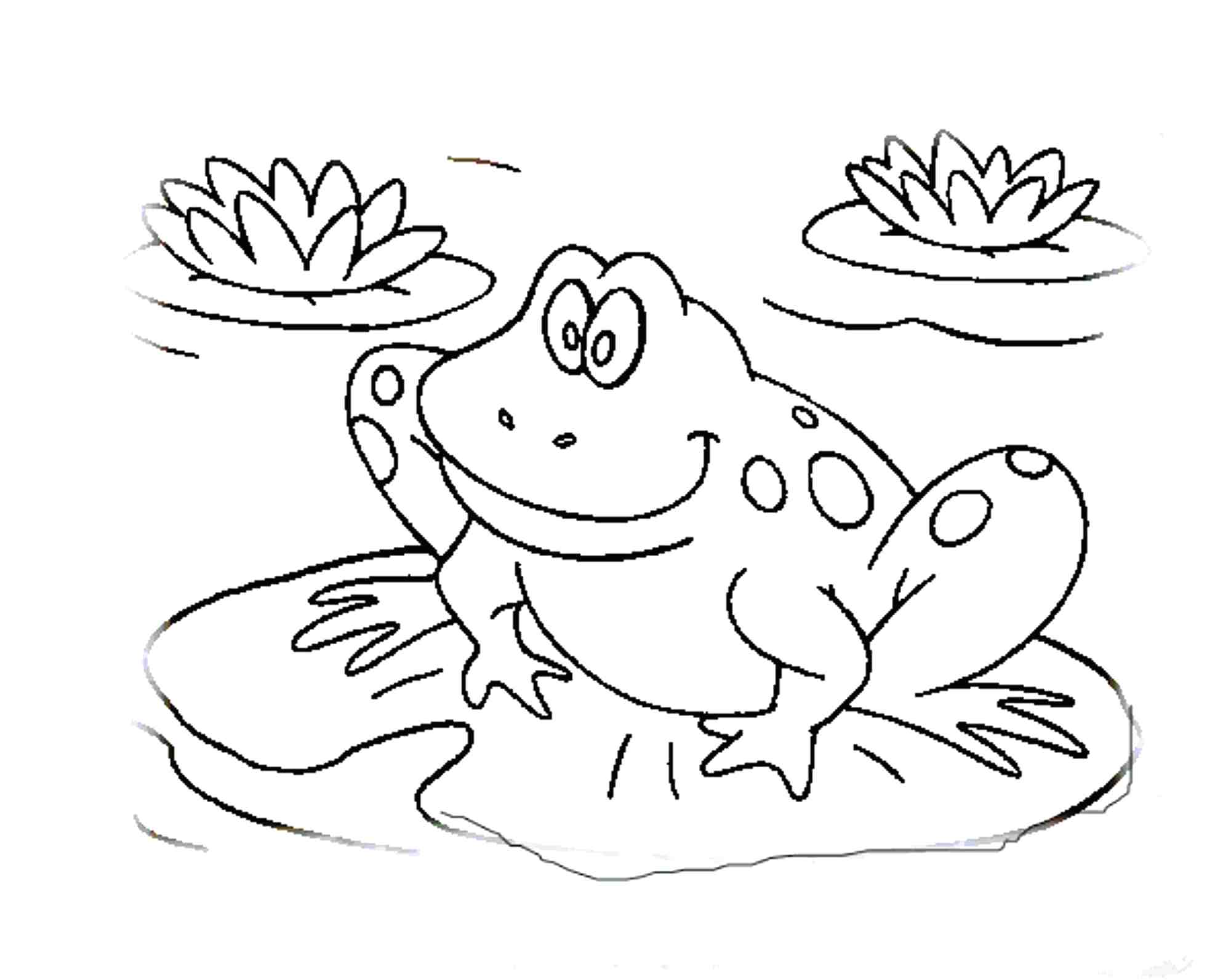 Leap Frog Drawing At Getdrawings