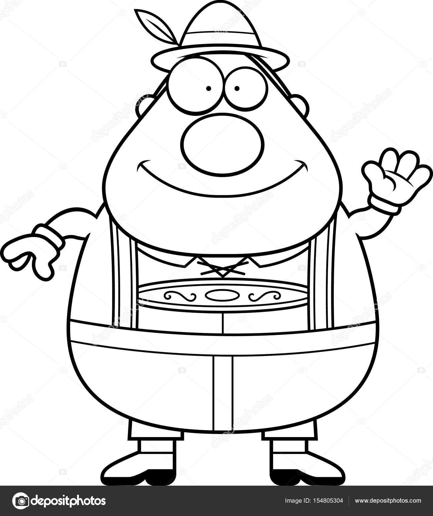 Lederhosen Drawing At Getdrawings