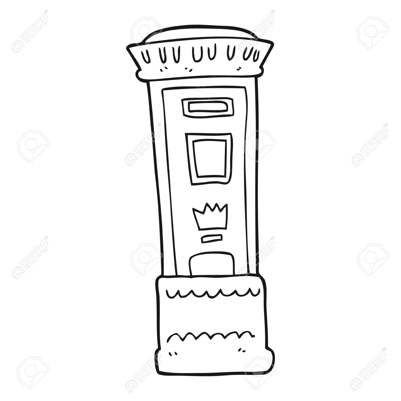 Letter Box Drawing At Getdrawings