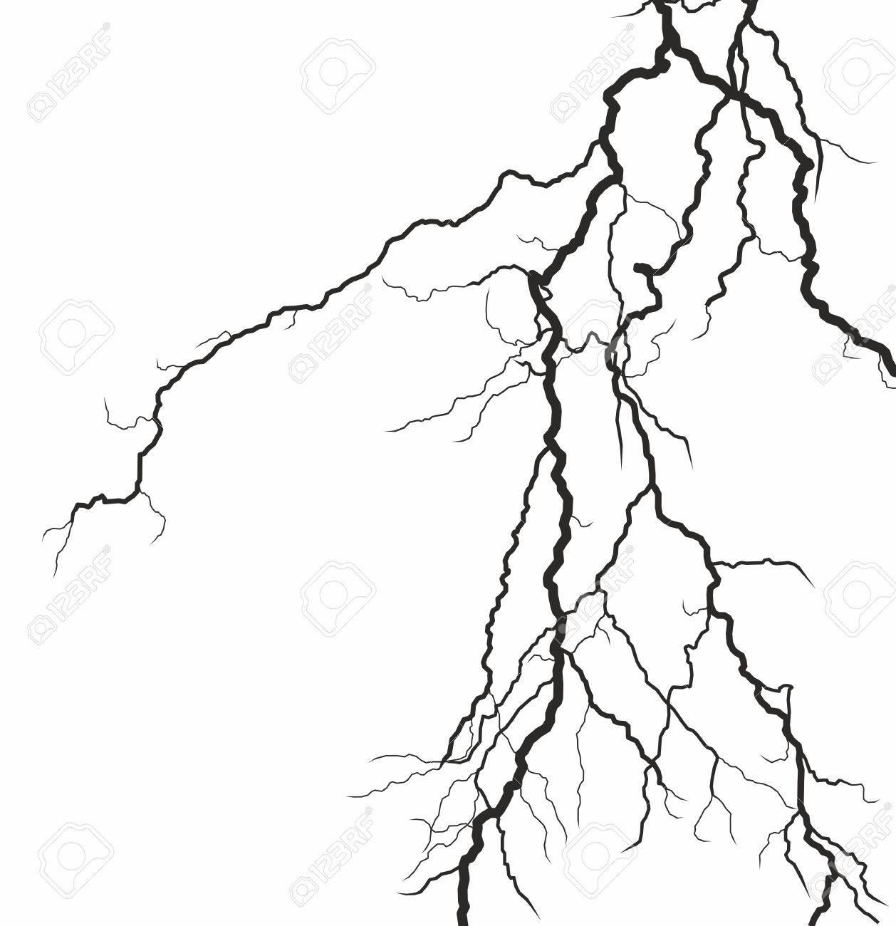 Lightning Strike Drawing At Getdrawings