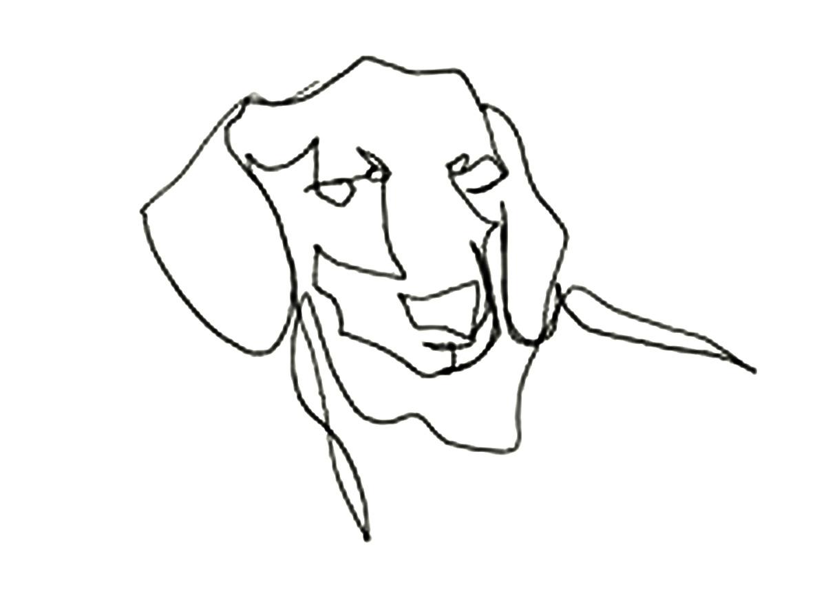 Line Drawing Dog At Getdrawings