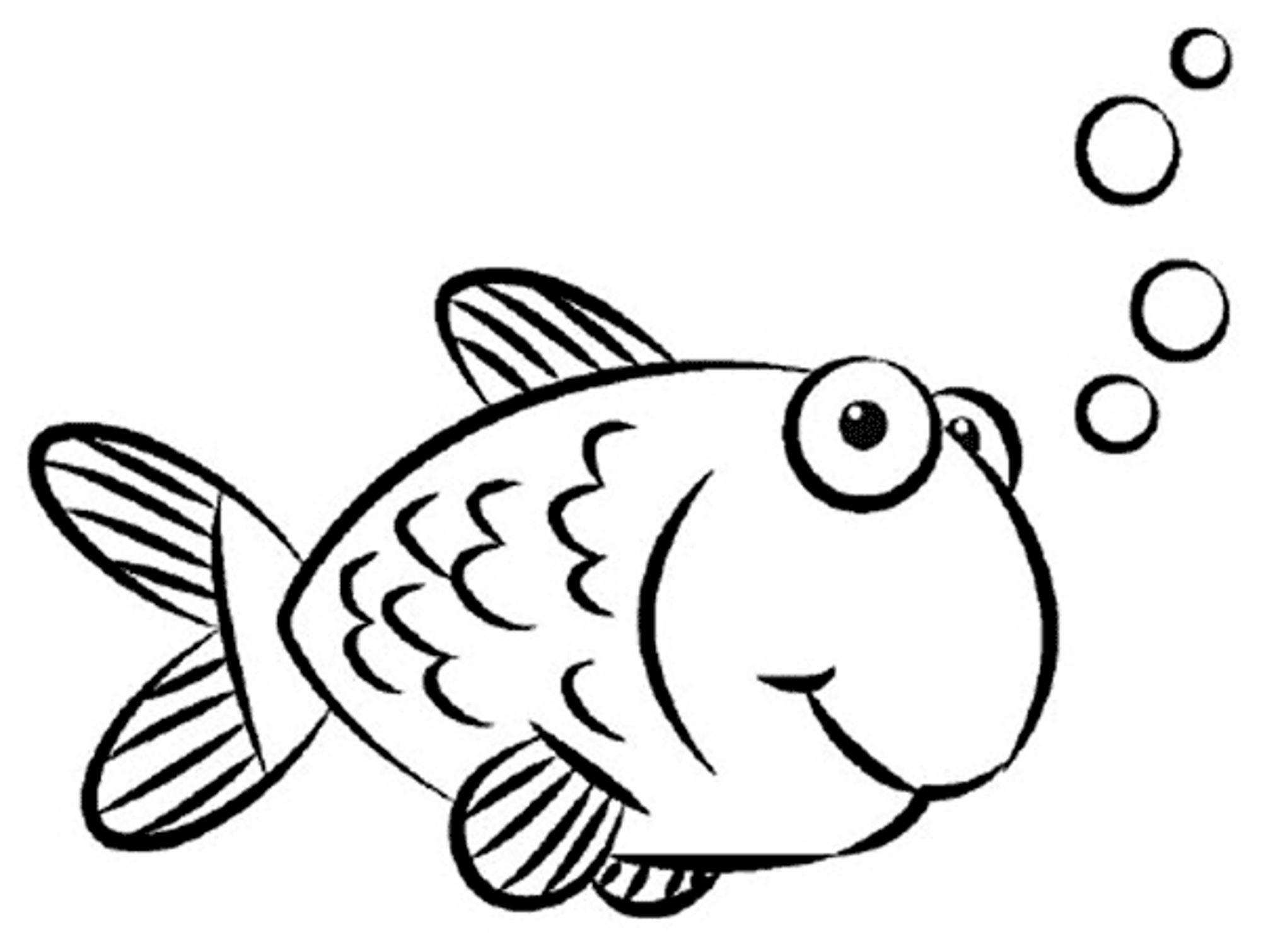 Line Drawing Of Fish At Getdrawings