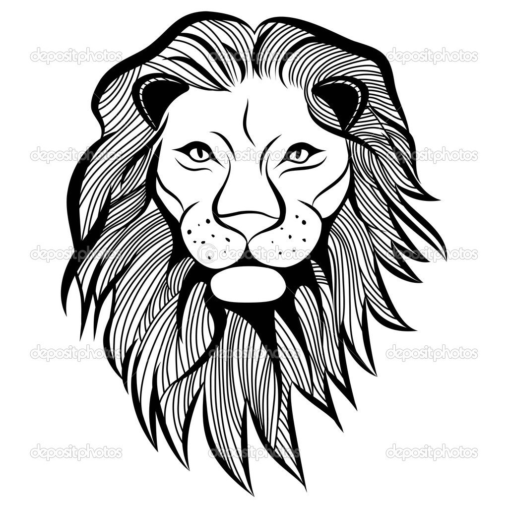 Lion Face Drawing Easy At Getdrawings