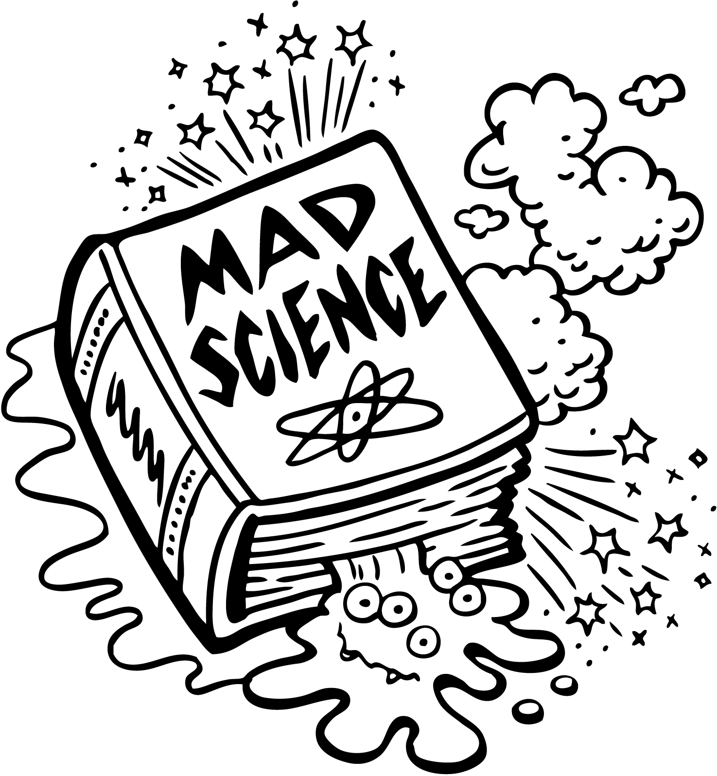 Mad Scientist Drawing At Getdrawings