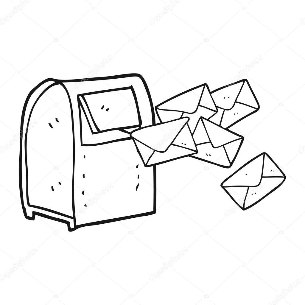 Mailbox Drawing At Getdrawings