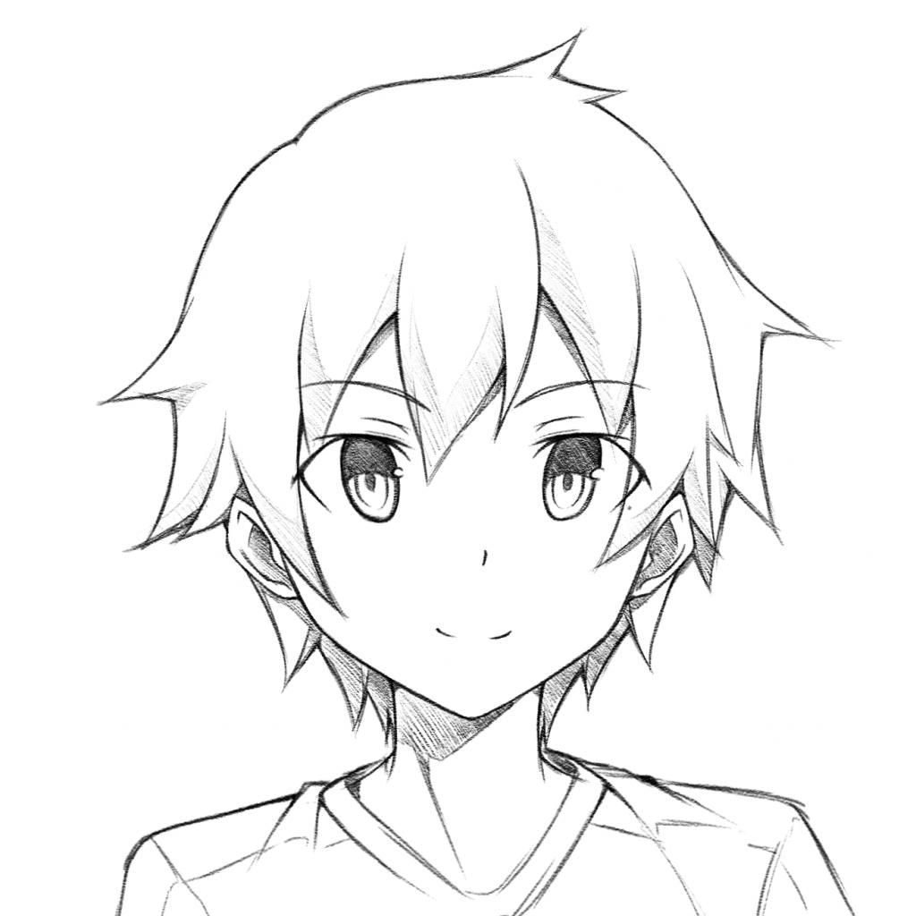 Manga Boy Drawing At Getdrawings