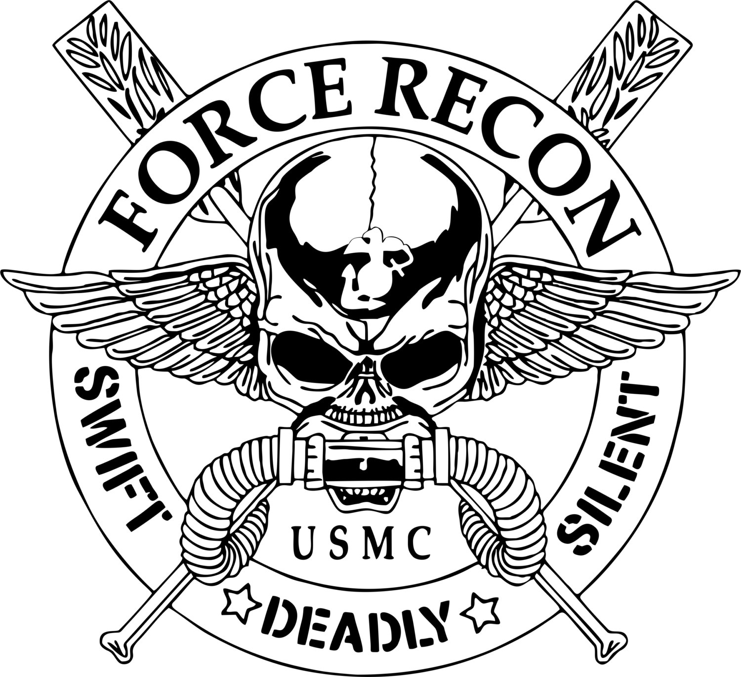 Marine Corps Emblem Drawing At Getdrawings