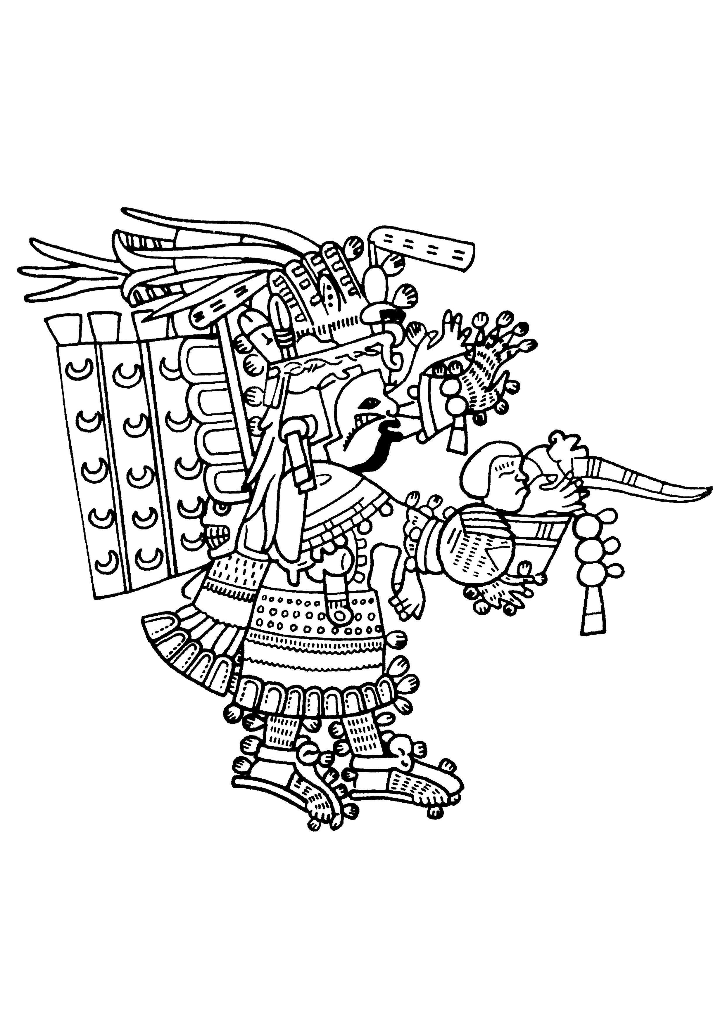 2480x3508 maya art british museum 7 mayans incas