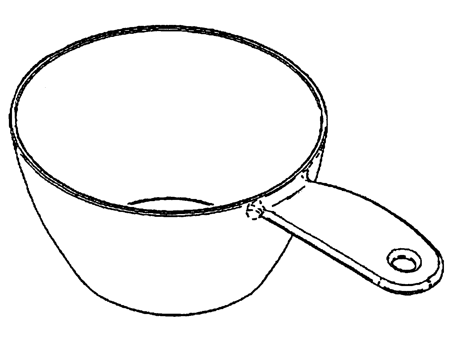 Measuring Cup Drawing At Getdrawings