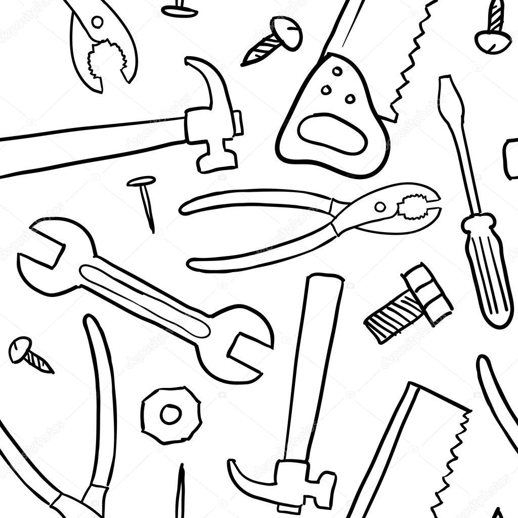 Mechanic Tools Drawing At Getdrawings
