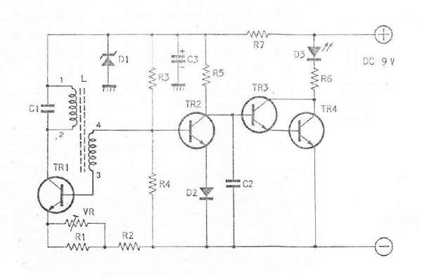 Metal Detector Drawing At GetDrawings.com