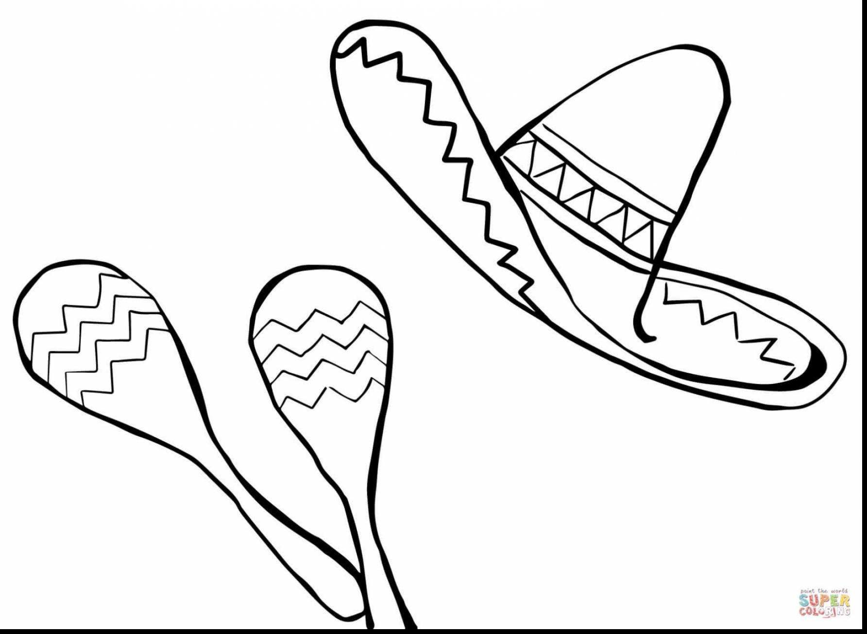 Mexican Hat Drawing At Getdrawings