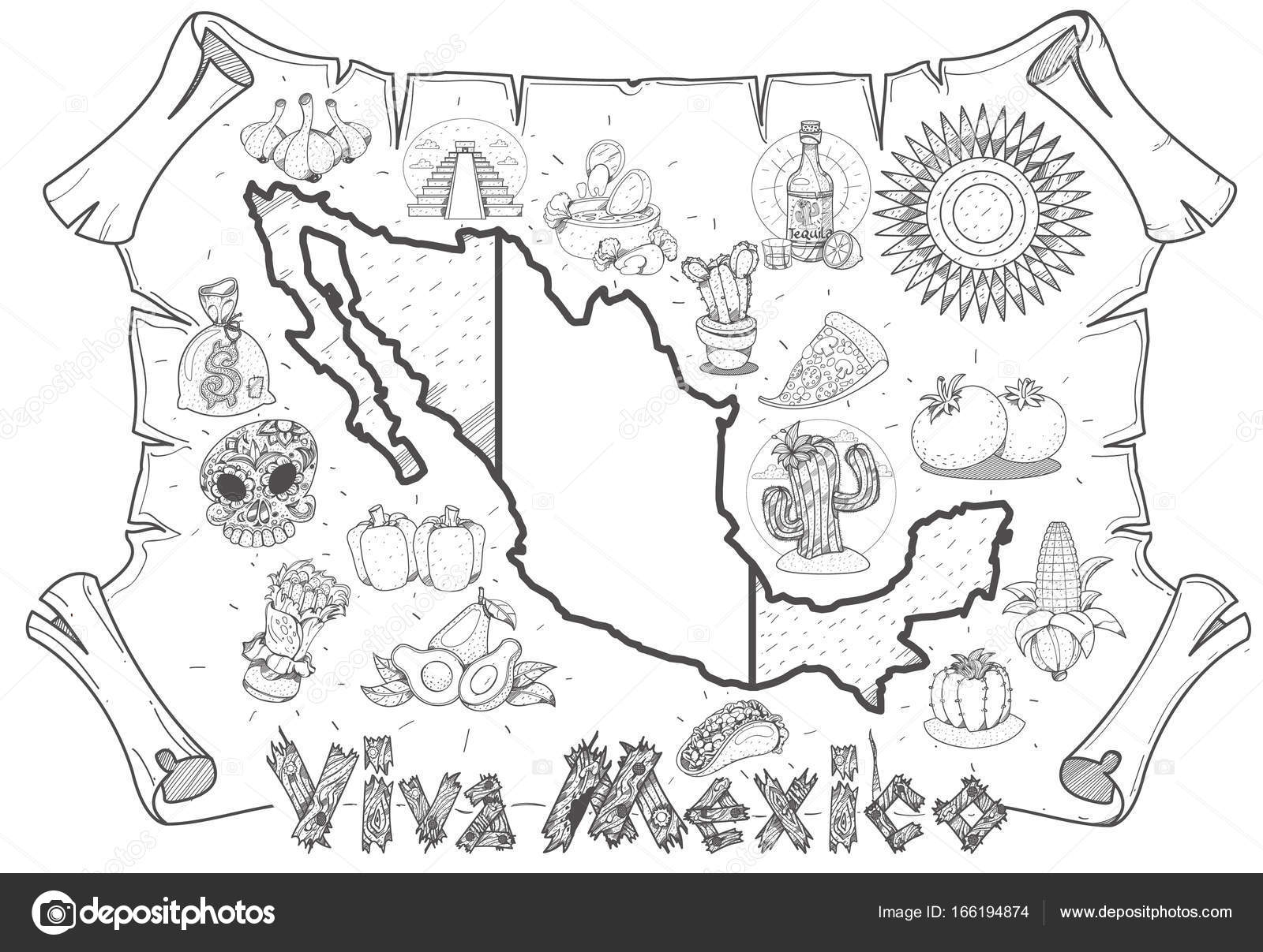 Mexico map drawing at getdrawings free for personal use mexico mexico map drawing 34 mexico map