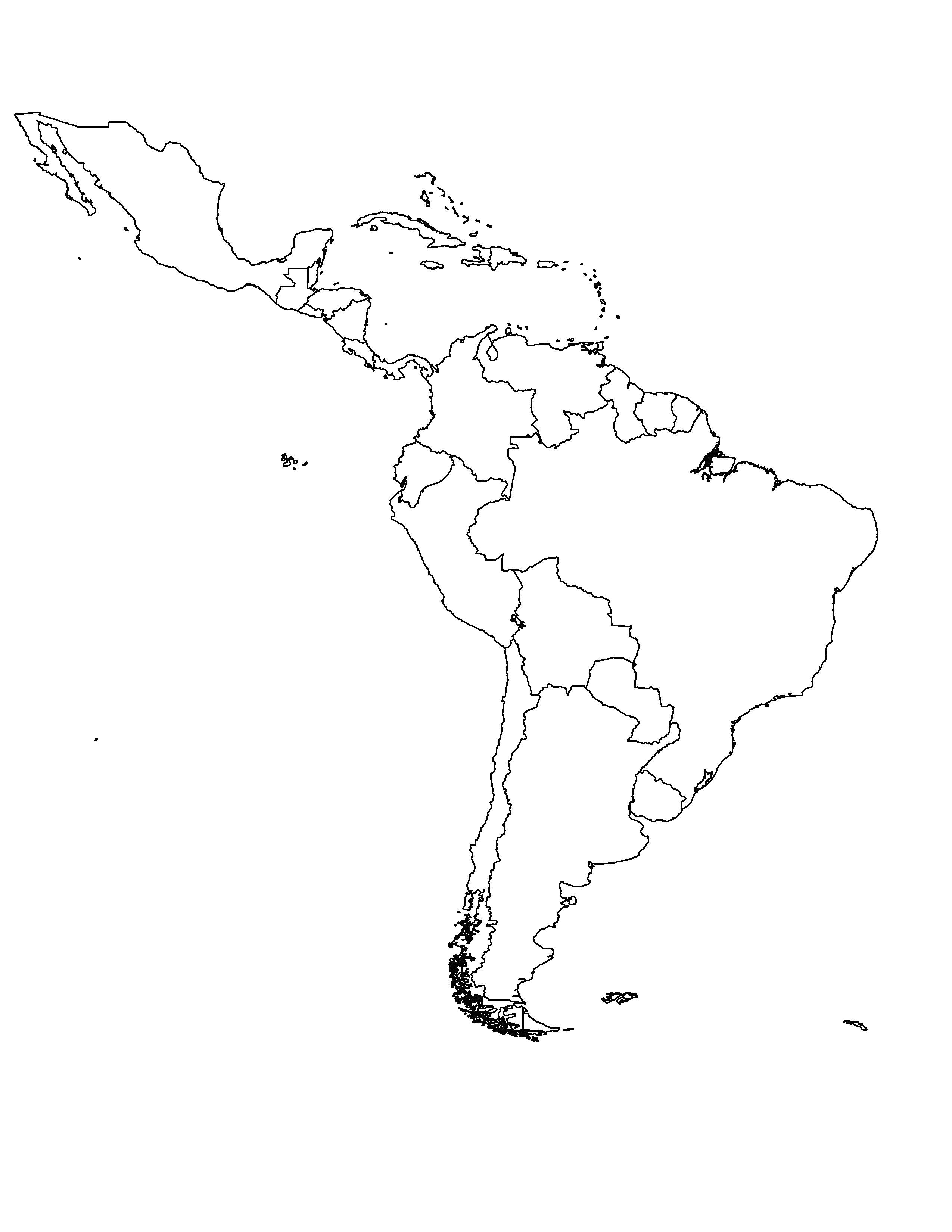 Mexico Map Drawing At Getdrawings