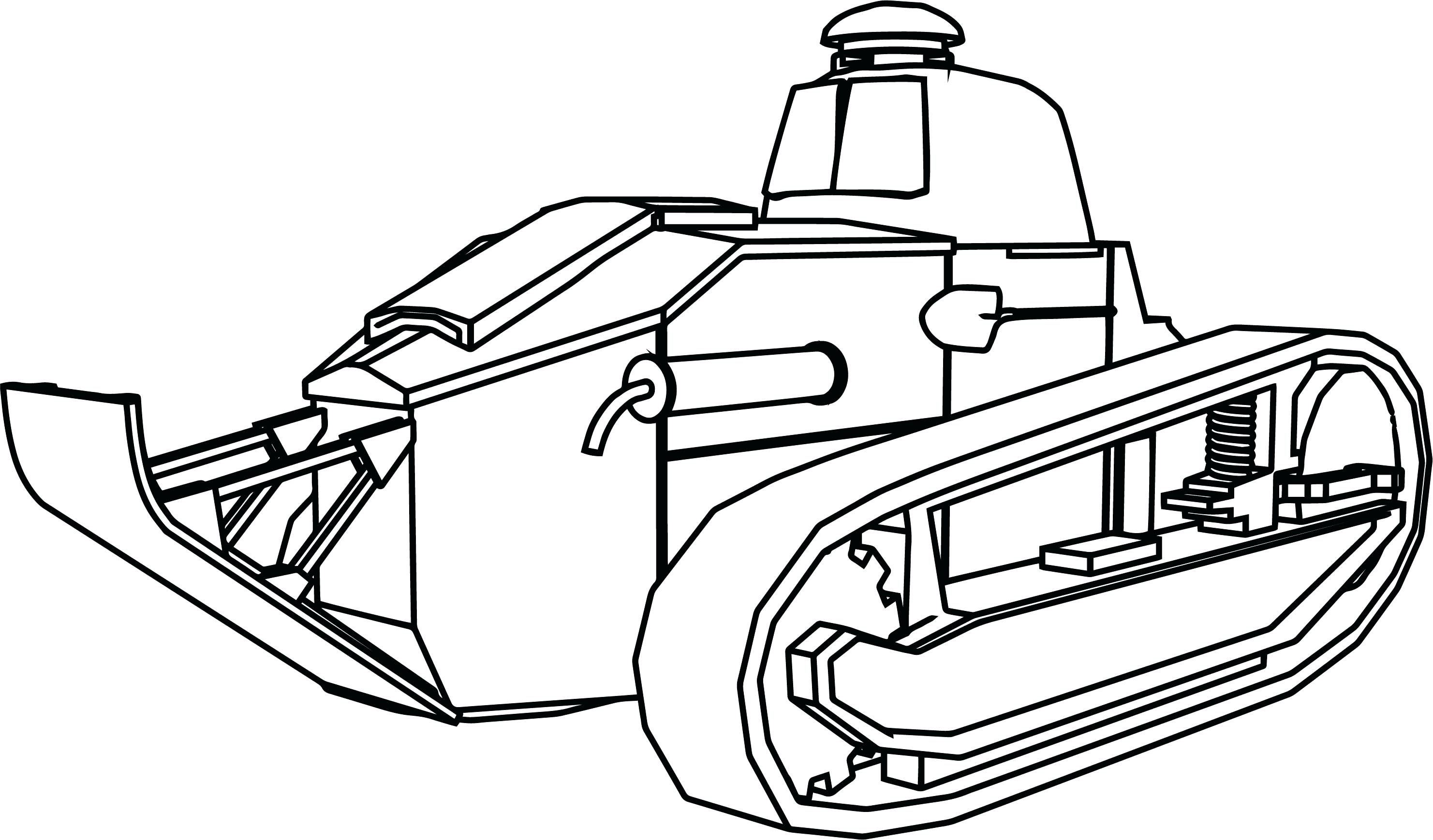 Sherman Tank Drawing At Getdrawings Com