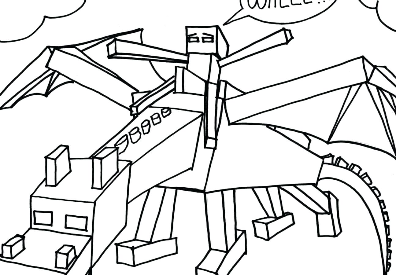 Minecraft Drawing Pictures At Getdrawings