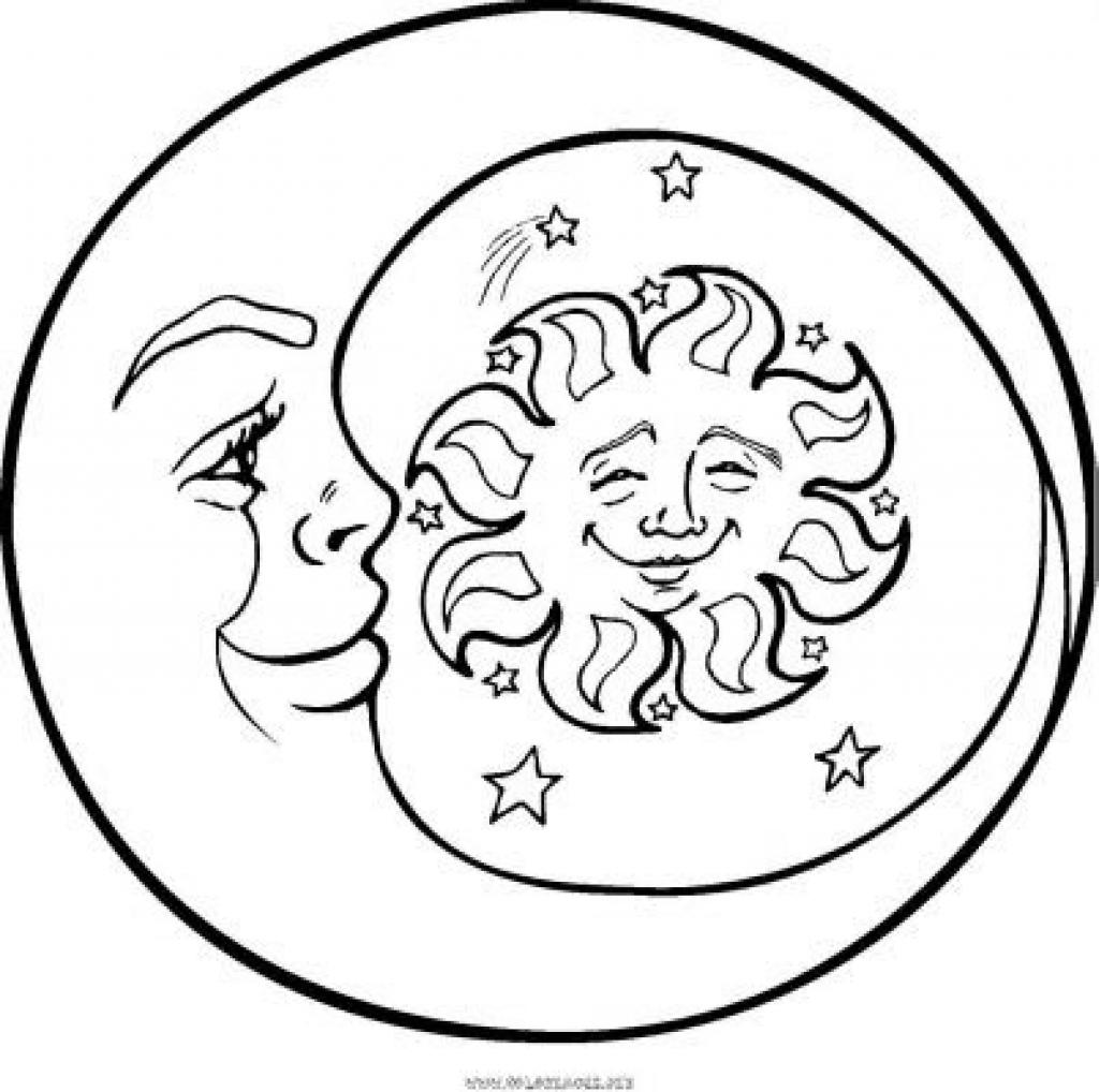 Moon Drawing Cartoon At Getdrawings