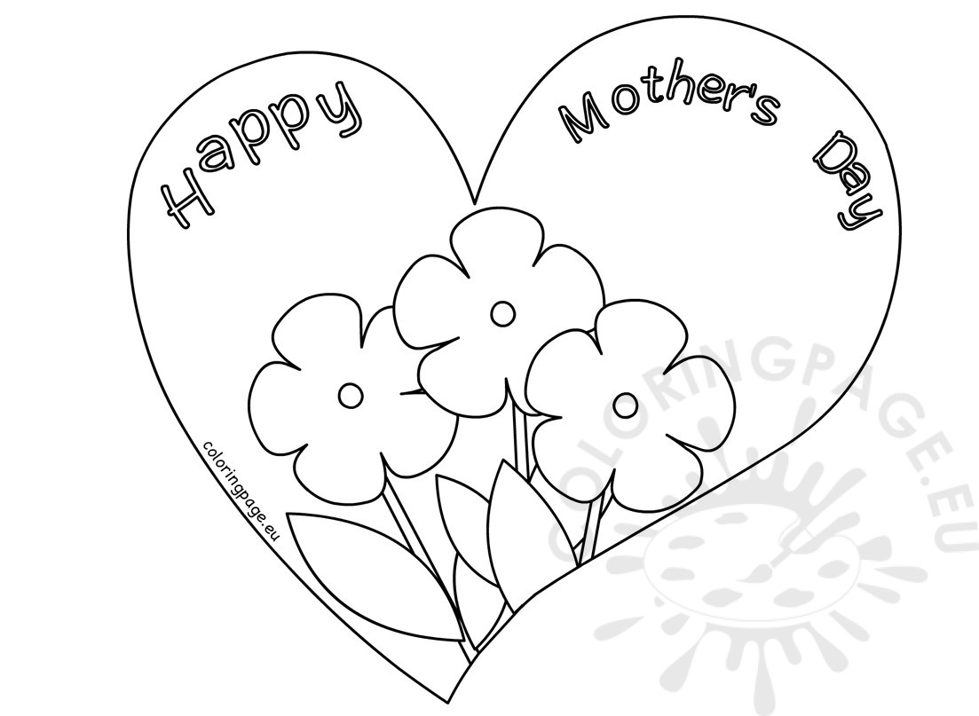 Mothers Day Card Drawing At Getdrawings
