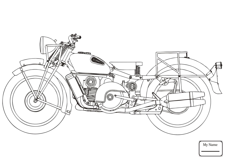 Motorcycles Drawing At Getdrawings