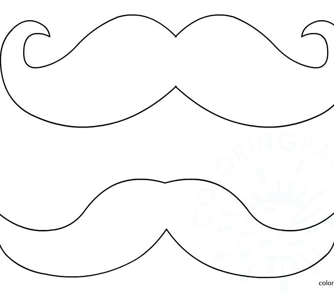 moustache drawing at getdrawings  free download