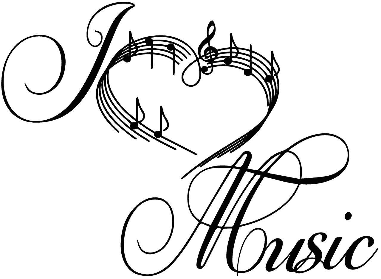 Music Symbols Drawing At Getdrawings