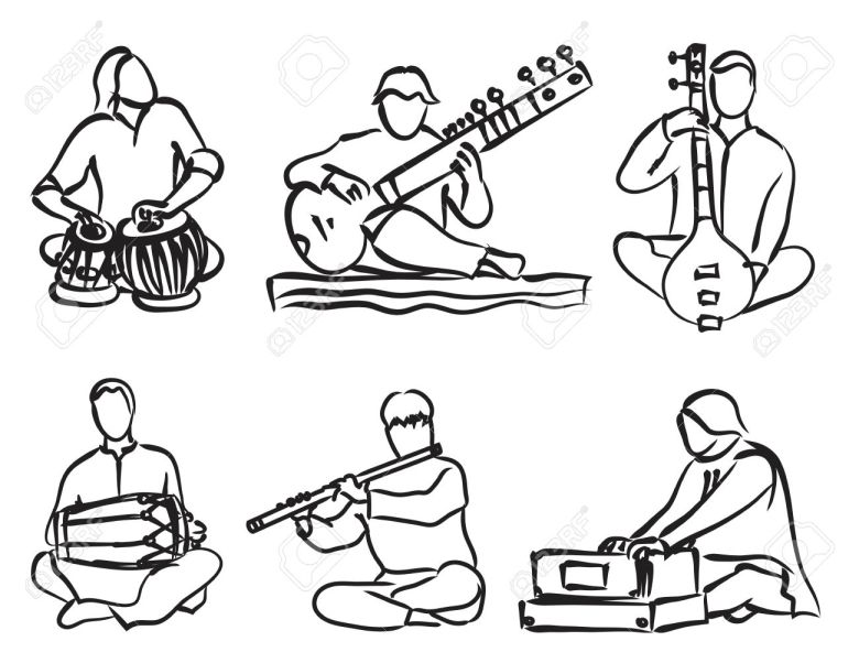 musical instruments drawing at getdrawings | free for personal