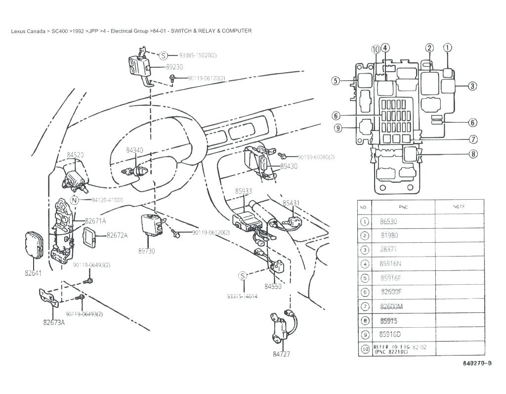 Fuse Diagram For 2006 Mustang