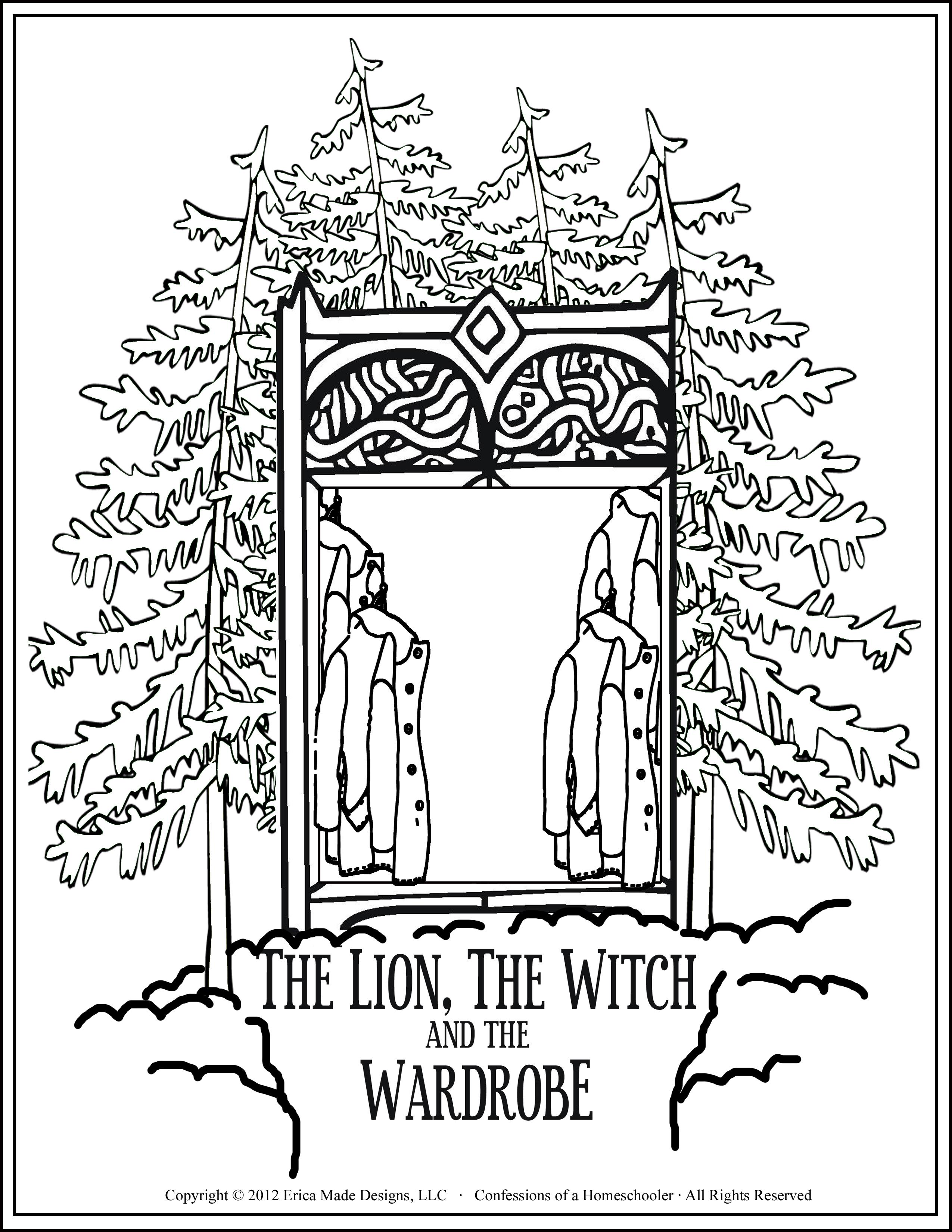 Narnia Wardrobe Drawing At Getdrawings