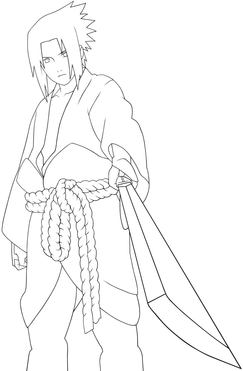 naruto style drawing at getdrawings  free download