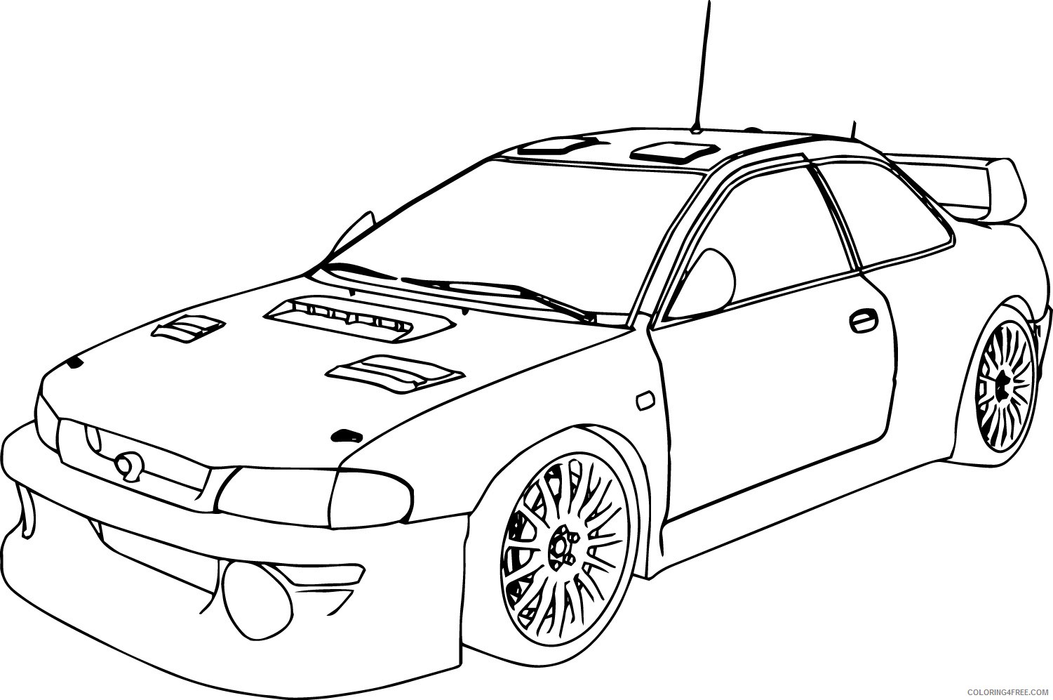 Nascar Drawing At Getdrawings