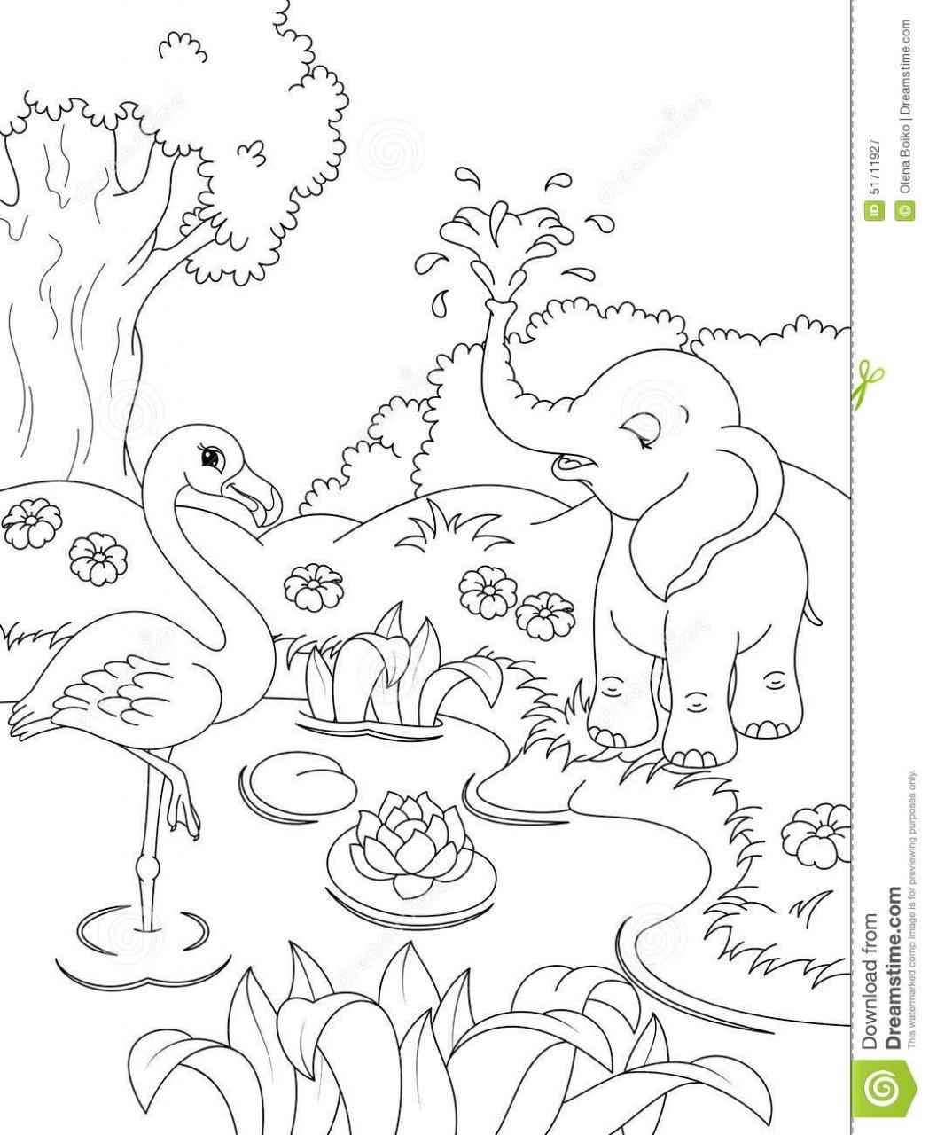 Nature Scenes Drawing At Getdrawings