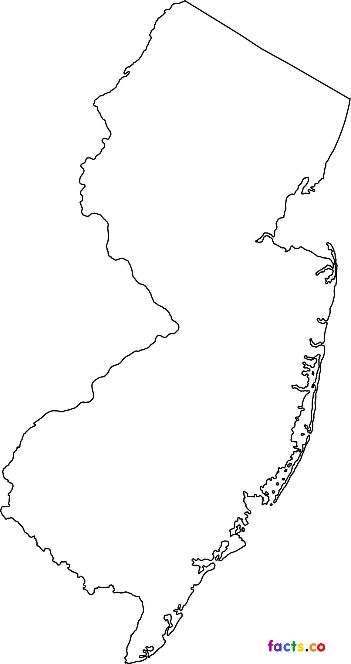 New Jersey Drawing At Getdrawings