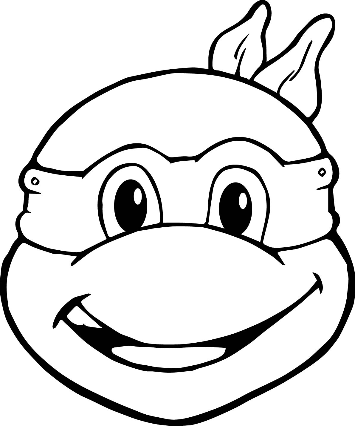 Ninja Turtle Head Drawing At Getdrawings