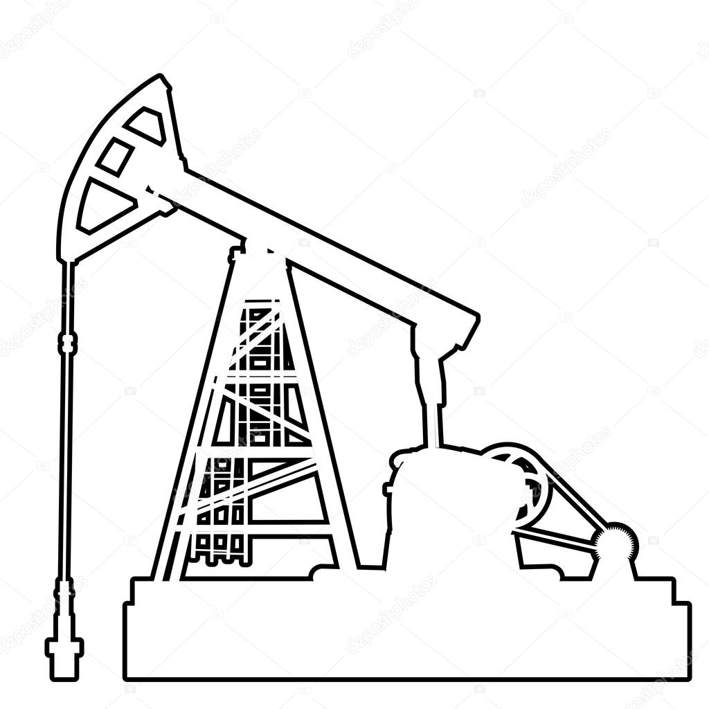 Oil Rig Drawing At Getdrawings