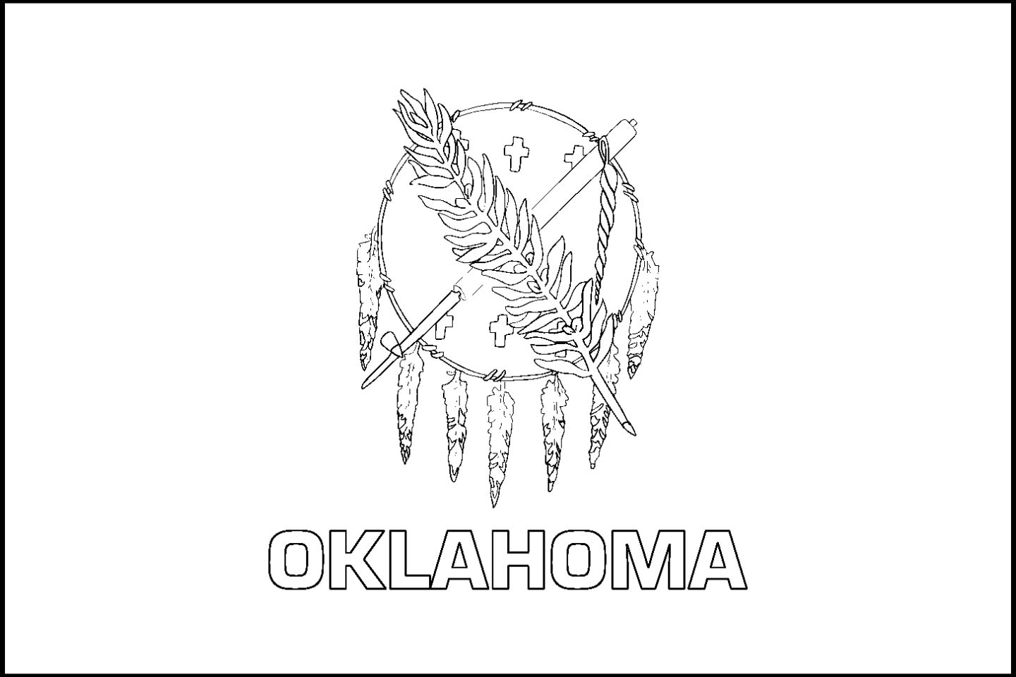 Oklahoma Drawing At Getdrawings