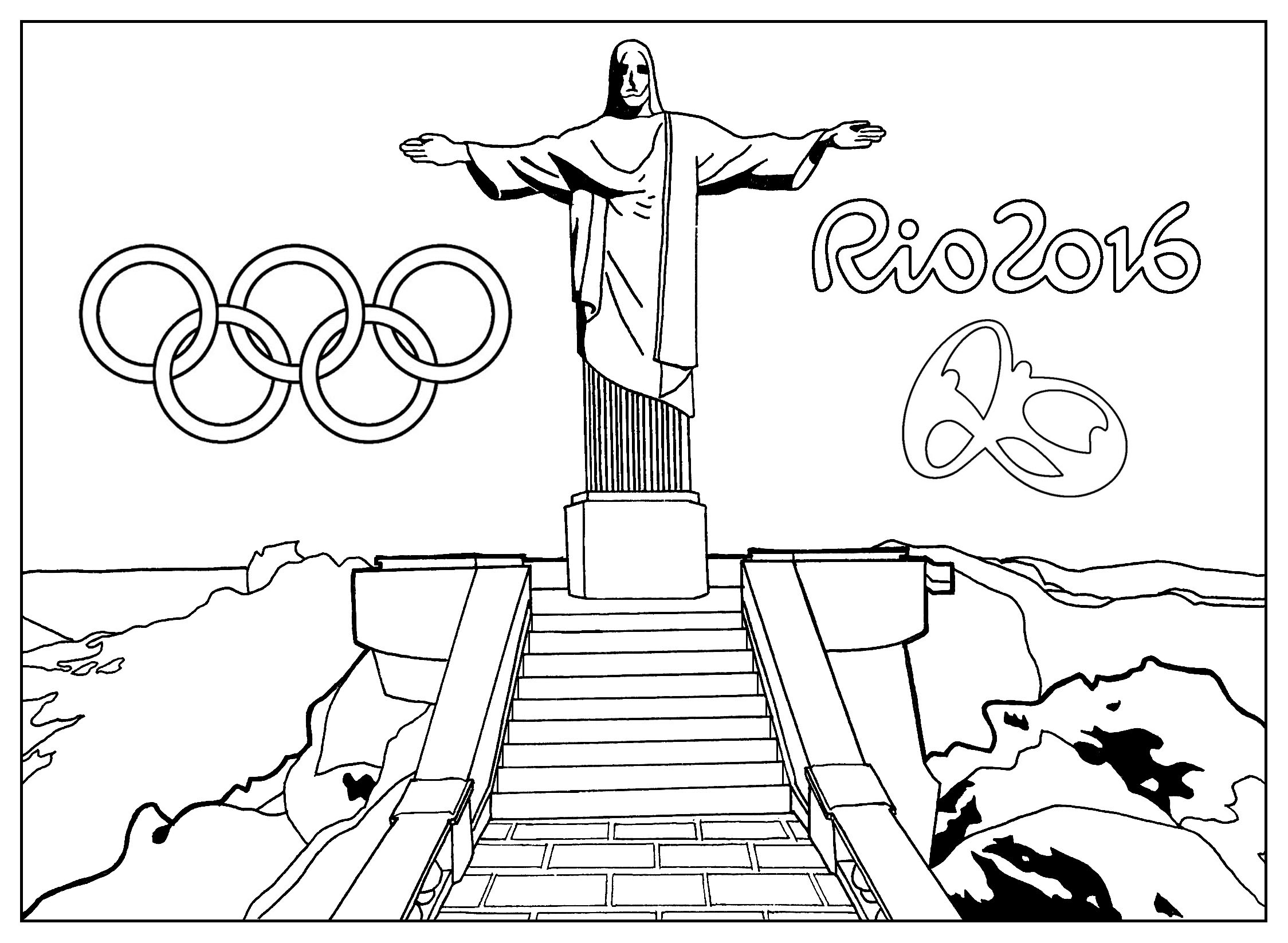 Olympic Torch Drawing At Getdrawings
