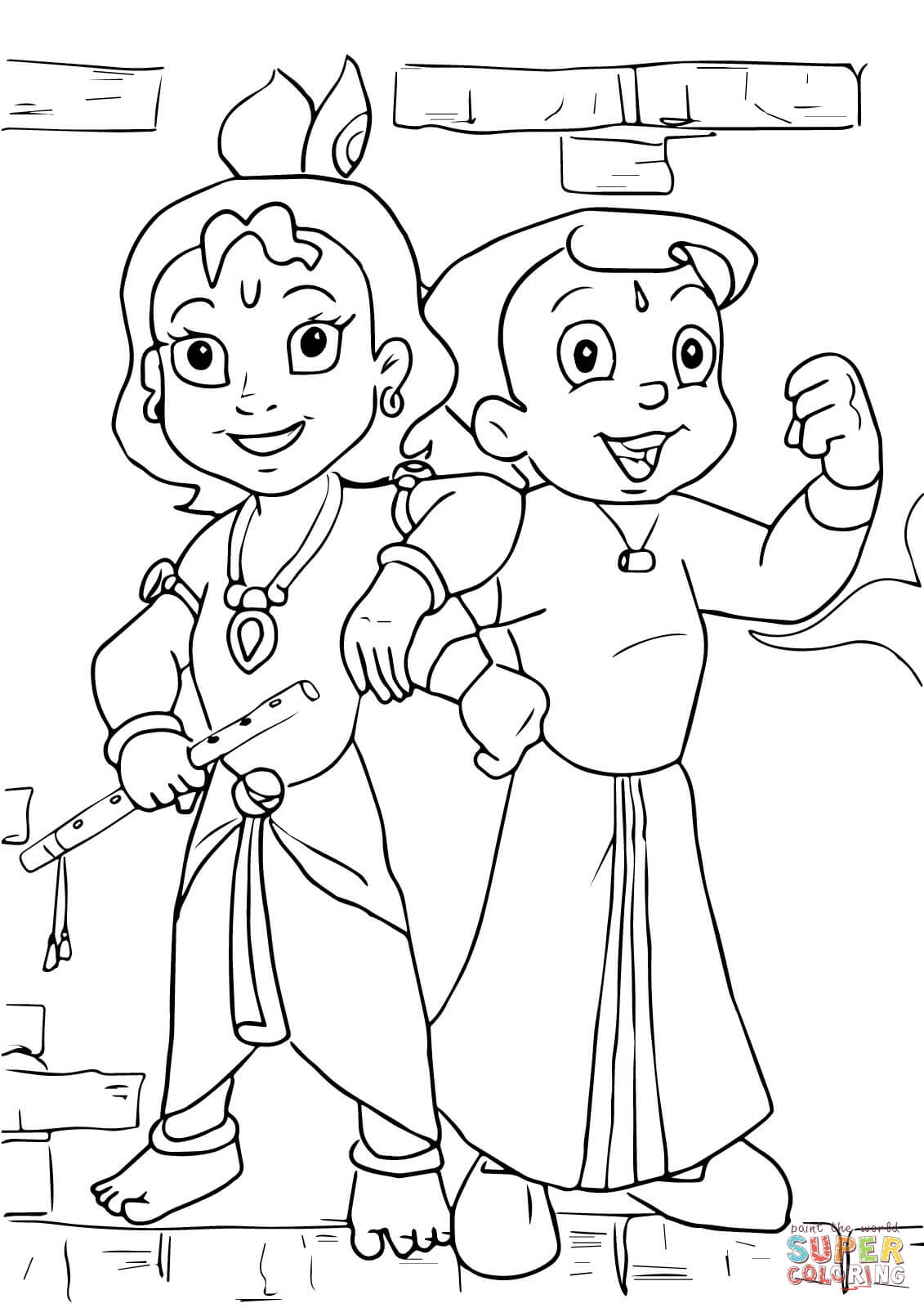 Outline Drawing For Colouring At Getdrawings