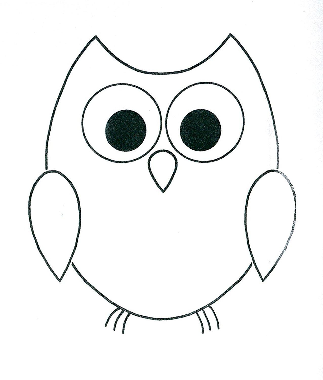 Owl Drawing Cute At Getdrawings