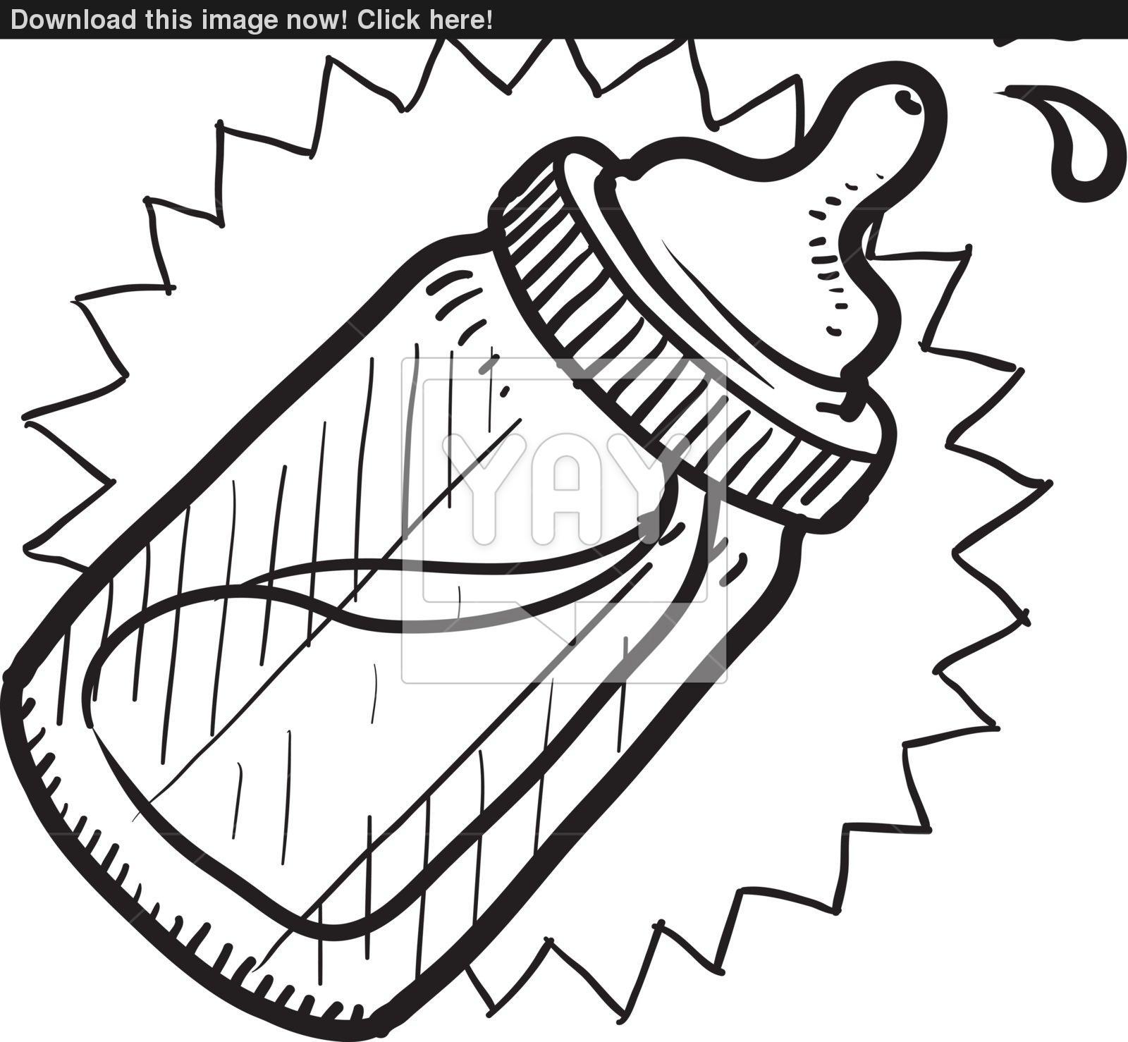 Pacifier Drawing At Getdrawings