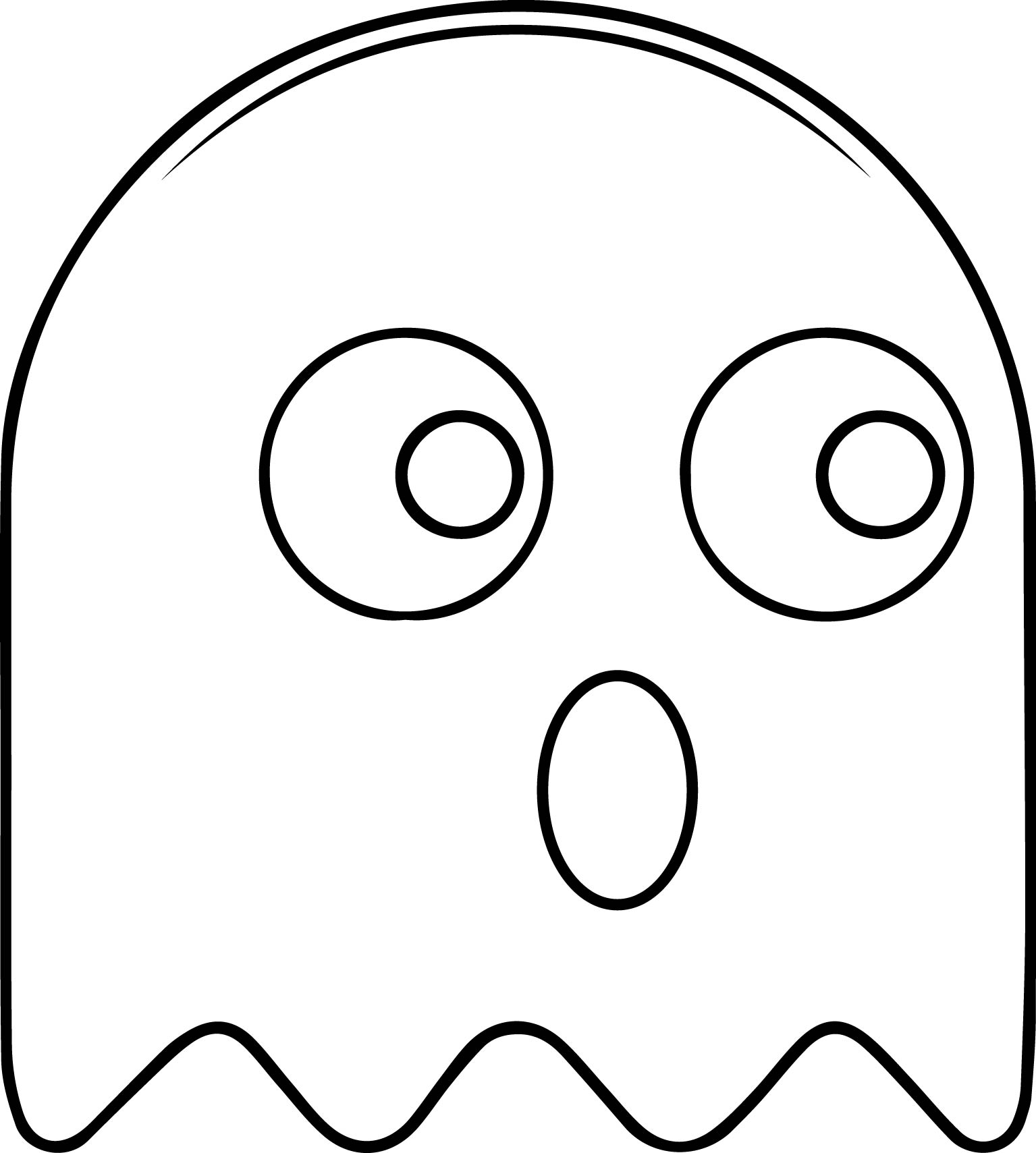 Pacman Drawing At Getdrawings