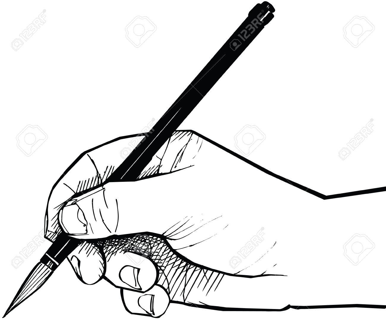 Painting Brush Drawing At Getdrawings