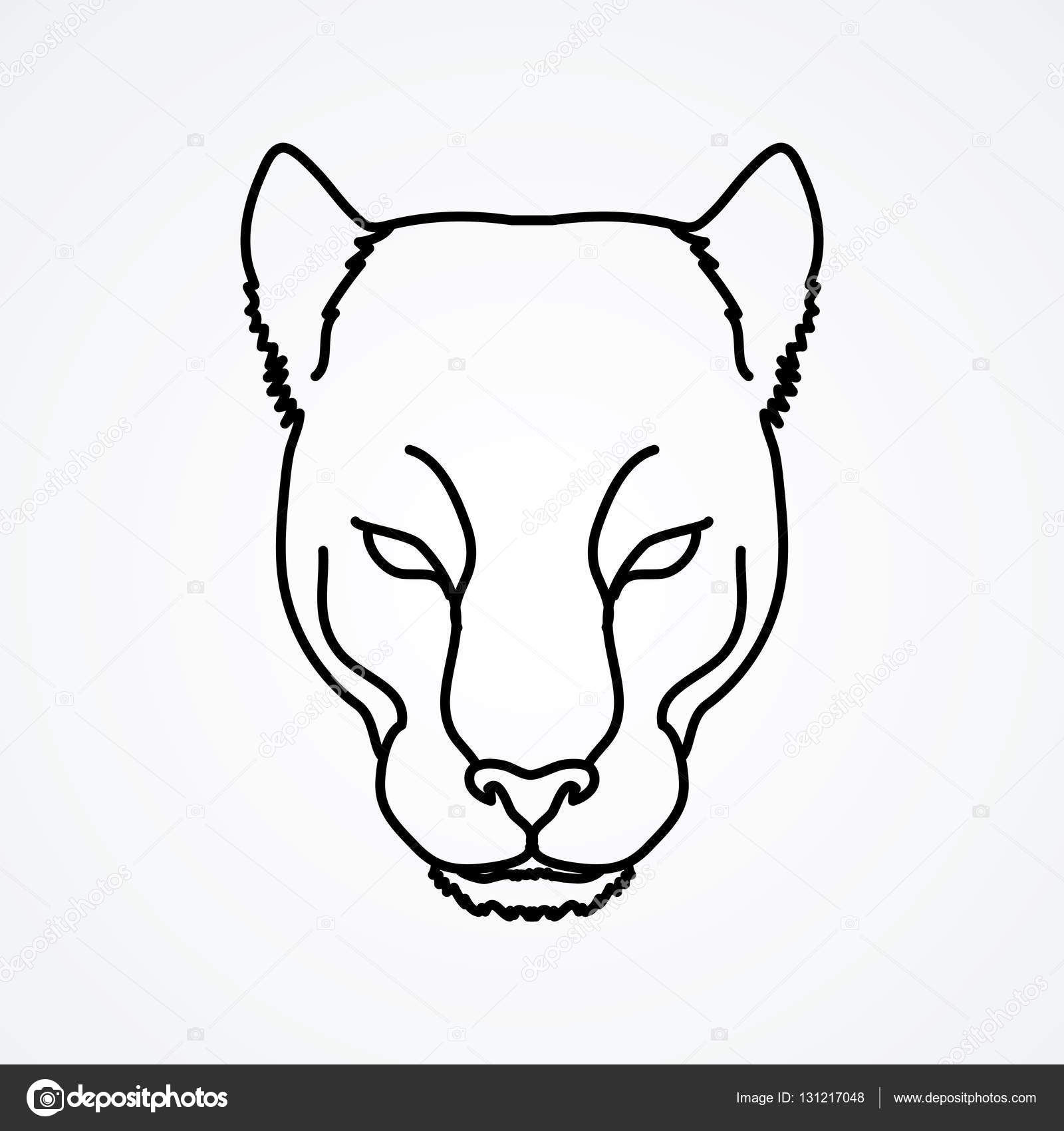Panther Face Drawing At Getdrawings