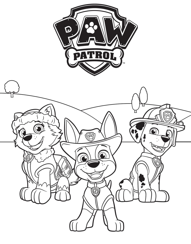 Paw Patrol Marshall Drawing At Getdrawings