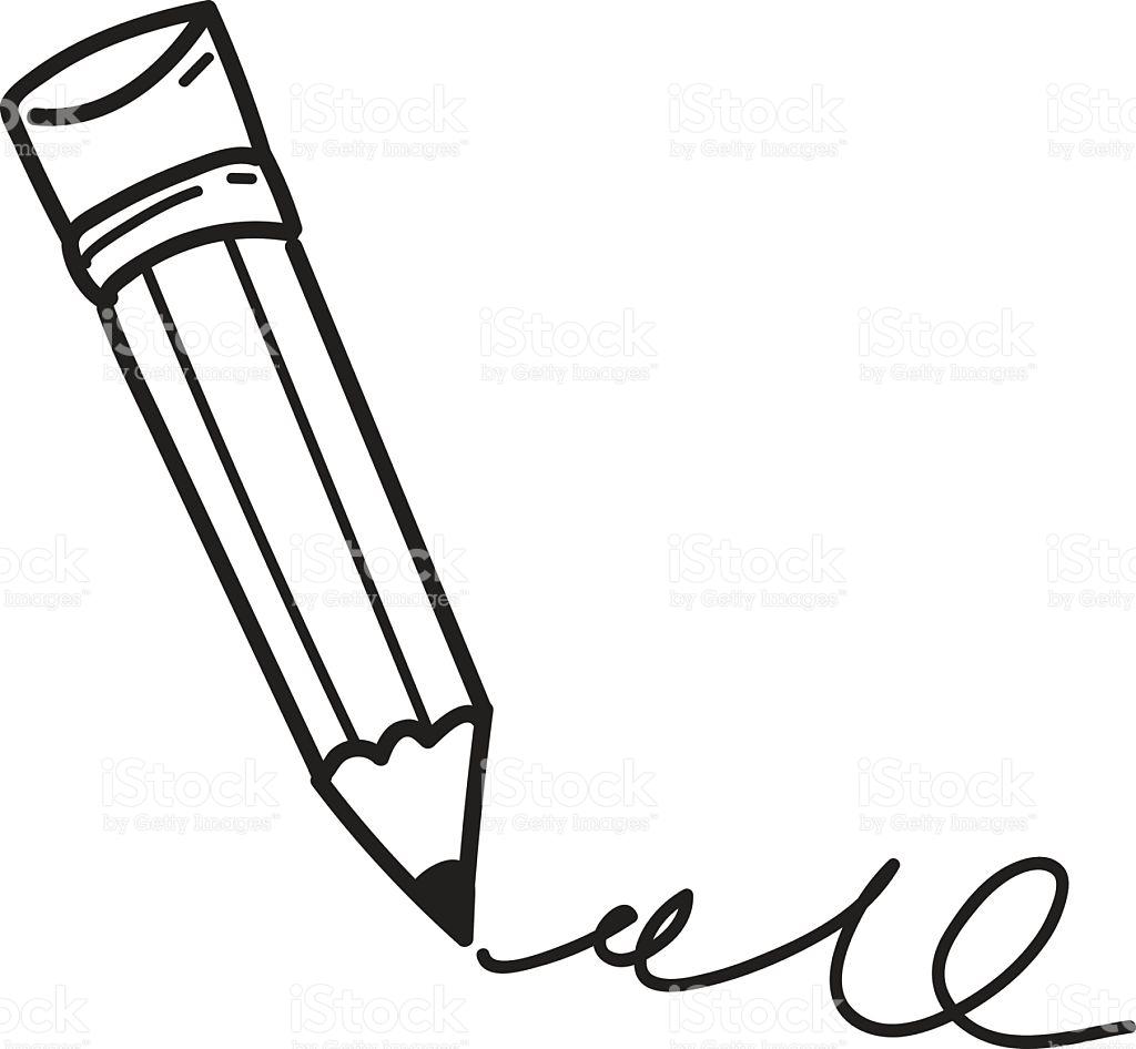 Pencil Drawing Clipart At Getdrawings